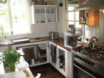 Domestic kitchen stainless