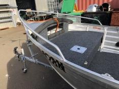 Aluminium tinny repairs and light fabrication