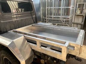 Aluminium canopy